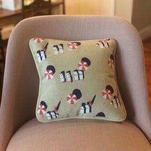Gray Malin x Smathers & Branson Needlepoint Pillow